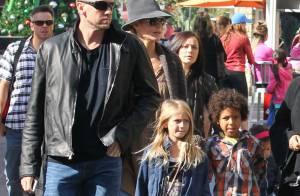 Heidi Klum et Martin Kirsten : Séance shopping avec Leni, Johan et Henry