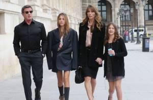 Sylvester Stallone, sa femme et ses filles : Un papa prévenant dans la capitale
