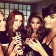 Frankie, Una, Molly et Vanessa de The Saturdays se sont réjouies de l'annonce de la grossesse de leur copine Rochelle Humes, le 22 novembre 2012