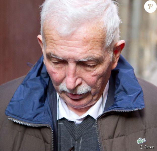 Régis de Camaret lors de son procès pour viols et tentatives de viols aux assises du Rhône à Lyon le 15 novembre 2012