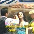 Marie Drucker dans la vidéo karaoké du tube de Carlos,  Big Bisou .