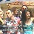 Vidéo karaoké du tube de Carlos,  Big Bisou,  dans laquelle apparaît Marie Drucker.