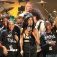 Amy Winehouse au concert-événement de Mandela