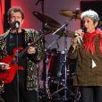 Johnny Clegg et Joan Baez au concert-événement de Mandela