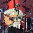 Vusi au concert-événement de Mandela