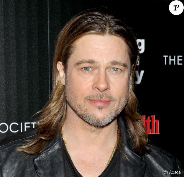 Brad Pitt lors de l'avant-première du film Cogan : Killing them Softly, le 26 novembre 2012 à New York