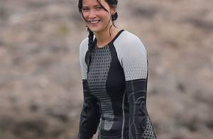 Hunger Games 2 : Jennifer Lawrence troque son bikini pour la combi moulante