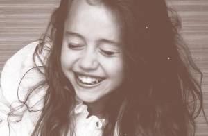 Miley Cyrus dévoile une photo d'enfance et elle a bien changé !