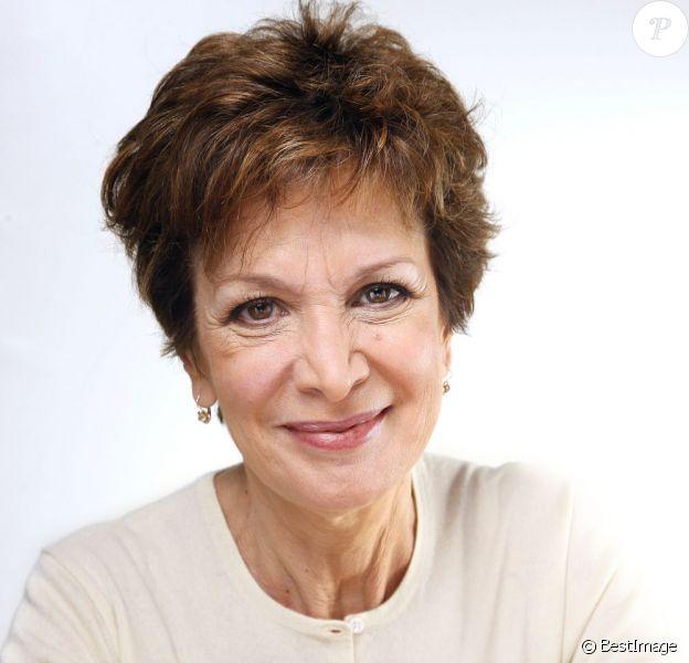 Portrait de Catherine Laborde, à Paris le 14 novembre 2012.