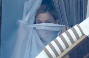 Madonna, plus timide que son fils Rocco, dans la dernière ligne droite