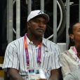 Evander Holyfield lors des Jeux olympiques de Londres le 6 août 2012