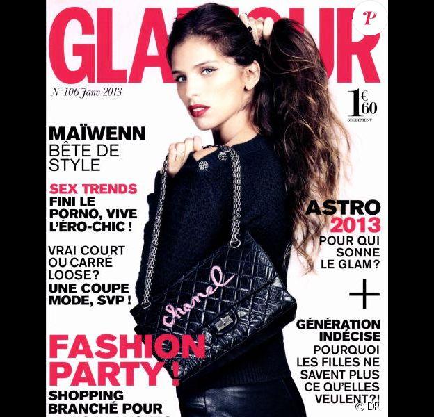 Le magazine Glamour du mois de janvier 2013
