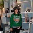 Alizée à la soirée de lancement de l'appareil photo Olympus 'Pen Lite' à la boutique Ephemere Olympus à Paris le 6 Decembre 2012.