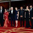 Jeon Soo-Il, James Gray, Sharmila Tagore, John Boorman, Marie-Josée Croze, Jillali Ferhati, Gemma Arterton, Pierfrancesco Favino et Lambert Wilson lors de la cérémonie de clôture du Festival du Film de Marrakech le 8 décembre 2012