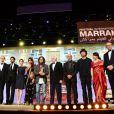 Ziad Doueiri reçoit l'Etoile d'or lors de la cérémonie de clôture du Festival du Film de Marrakech le 8 décembre 2012