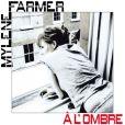Pochette du single À l'ombre de Mylène Farmer
