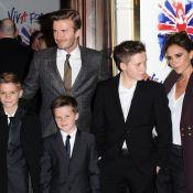 Victoria Beckham avec David, ses fils et les Spice Girls pour Viva Forever