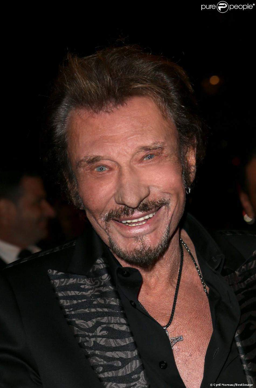 Johnny Hallyday à Paris le 9 Novembre 2012