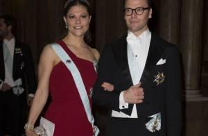 Victoria et Madeleine de Suède : Divin final rouge et gris pour les Nobel 2012