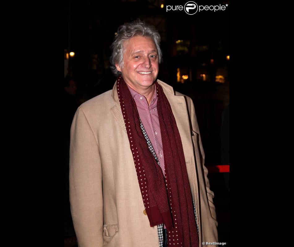 Gilbert Rozon à paris le 21 novembre 2011, pour l'avant-première du film Hollywoo.