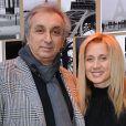 Gérard Puliccino et sa femme Lara Fabian à Paris, le 14 décembre 2011.