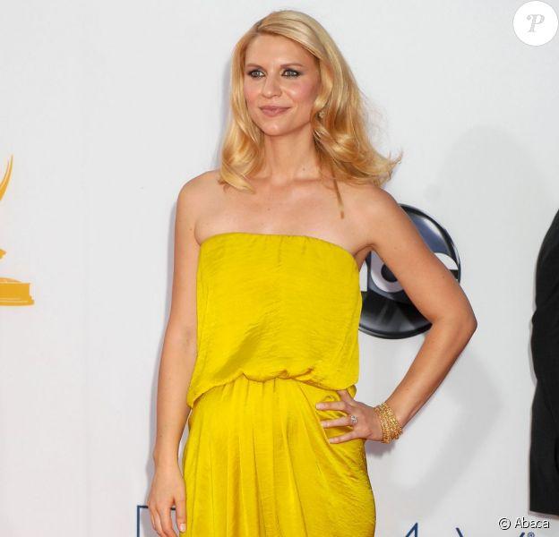 Claire Danes le 23 septembre 2012 à Los Angeles.