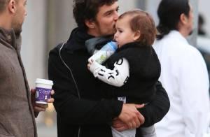 Orlando Bloom retrouve son fils Flynn, mais sans alliance ni Miranda Kerr
