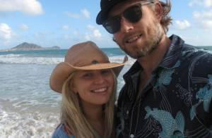 Jessica Simpson enceinte et sa soeur Ashlee : Plage avec leurs enfants à Hawaï