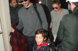 LeAnn Rimes et Eddie Cibrian : Voyage en famille avec les petits Jake et Mason
