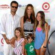 Brooke Burke, David Charvet et leurs quatre filles en décembre 2012