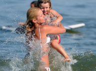 Valeria Mazza : A 40 ans, superbe en bikini, elle rayonne avec ses enfants