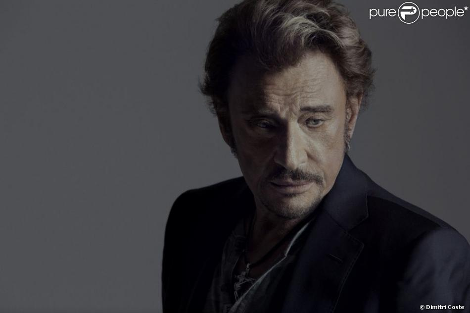 Johnny Hallyday photographié par Dimitri Coste pour son album  L'Attente , été 2012.
