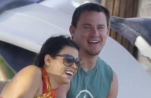Channing Tatum : Futur papa tendre et complice avec sa femme Jenna