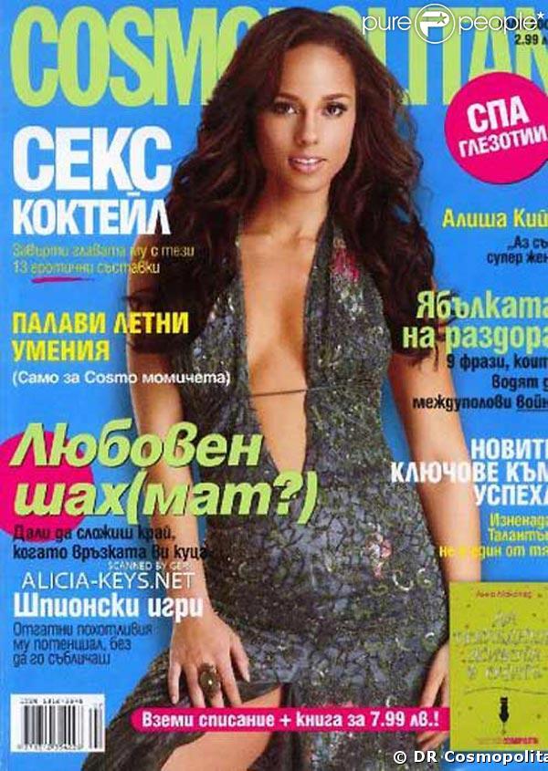 Alicia Keys pour Cosmopolitan