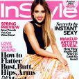 Jessica Alba en couverture du magazine InStyle pour le mois de février 2013. Sortie du numéro : le 11 janvie 2013
