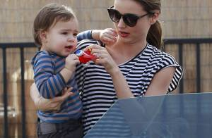 Miranda Kerr et Flynn : Duo complice et assorti