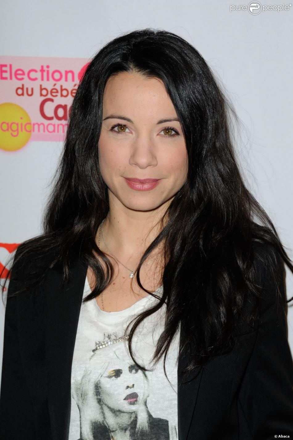 Anne-Gaëlle Riccio en janvier 2012 à Paris