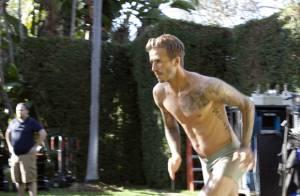 David Beckham à moitié nu devant la caméra de Guy Ritchie