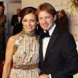 La princesse Aimée et le prince Floris d'Orange-Nassau à la première de Nova Zembla le 21 novembre 2011 à Amsterdam. En 2013, le couple attend son troisième enfant, pour le mois de juillet.