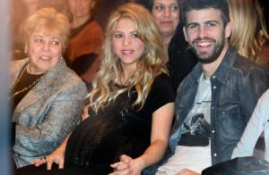 Shakira, enceinte : Ses mots doux à son père William, devant un Piqué attendri
