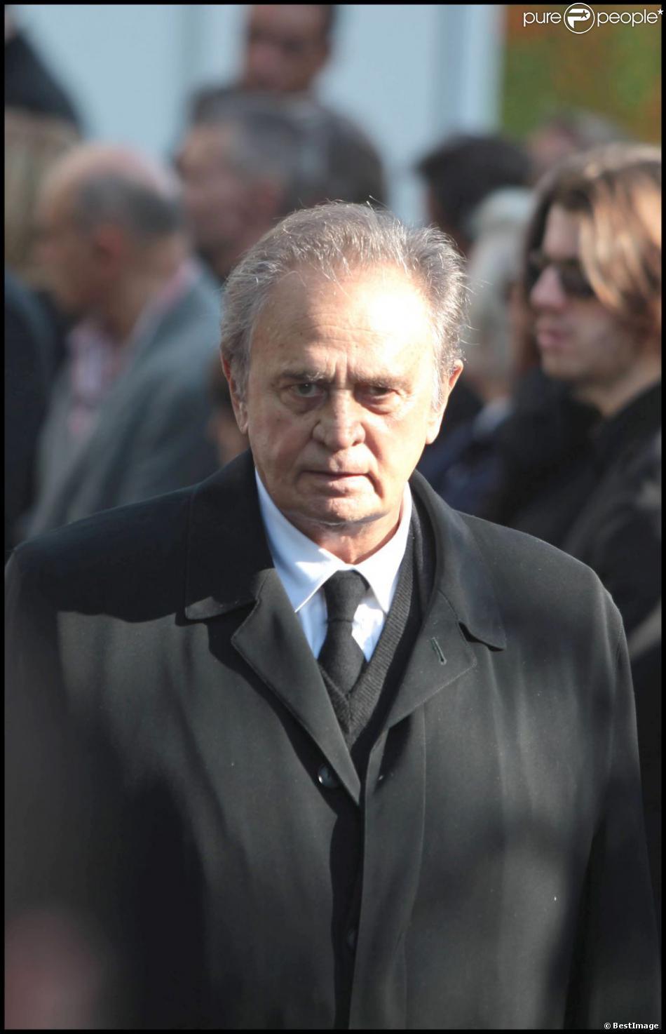Roger Hanin à Sainte-Geneviève-des-Bois, le 24 septembre 2009.