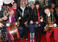 Flavio Briatore et Elisabetta Gregoraci : Falco, 2 ans, s'émerveille au cirque