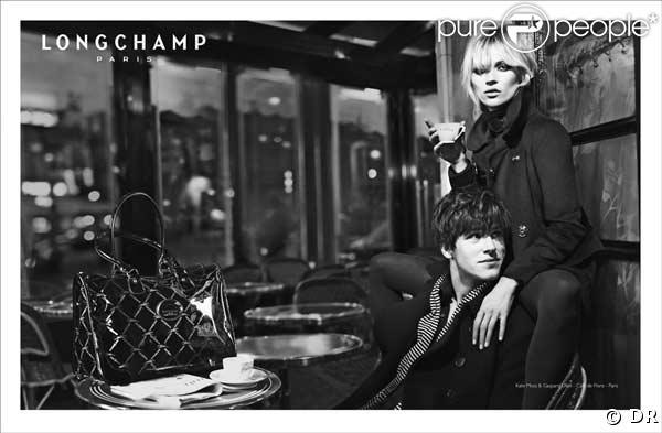 Kate Moss et Gaspard Ulliel, petit tête-à-tête parisien