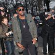 Theophilus London à son arrivée au défilé Chanel
