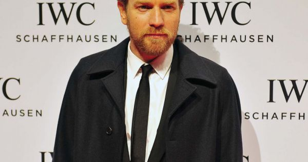 Ewan McGregor chic et barbu. (Photo du 22 janvier 2013)...