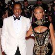 Jay-Z et Beyoncé lors du Costume Institute Gala au Metropolitan Museum of Art. New York, mai 2011.