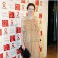Claire Waight Keller, directrice artistique de la maison Chloé, assiste au 11e Dîner de la Mode contre le Sida au Pavillon d'Armenonville. Paris, le 24 janvier 2013.