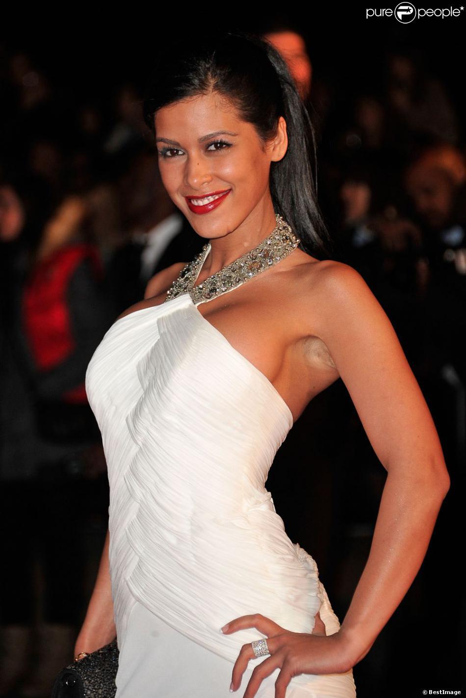 Ayem sur le tapis rouge des 14e NRJ Music Awards au Palais des Festivals à Cannes, le 26 janvier 2013