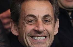 PSG-Lille : Nicolas Sarkozy supporter attentif et heureux d'une victoire amère