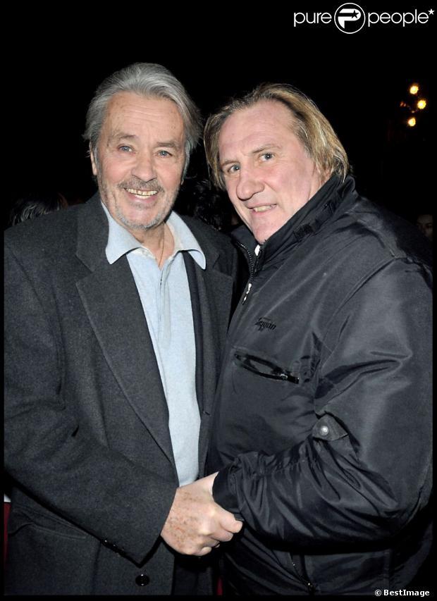 Alain Delon à coeur ouvert sur Florence Cassez, Depardieu, l'argent des acteurs 1036766-alain-delon-et-gerard-depardieu-620x0-1